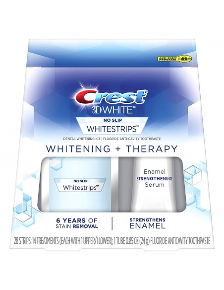 Crest 3D White Whitestrips Whitening + Therapy фото 1