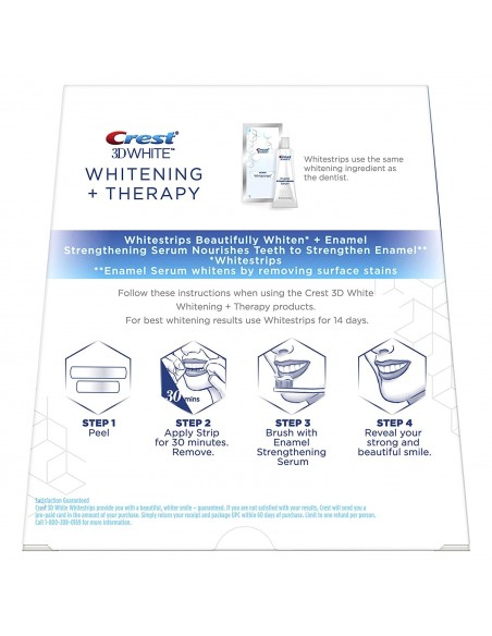 Crest 3D White Whitestrips Whitening + Therapy фото 2