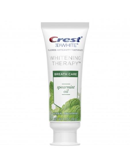 Отбеливающая зубная паста Crest 3D White Whitening Therapy Spearmint Oil фото 2