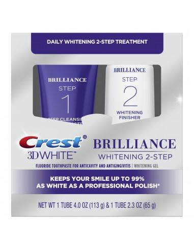 Двухступенчатая система отбеливания Crest 3D White Brilliance + Whitening Two-Step фото 1