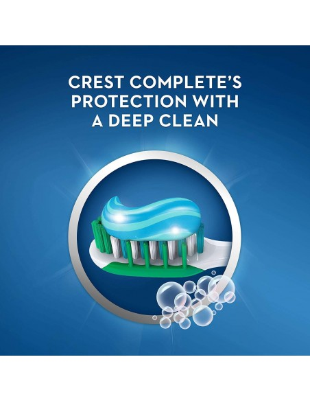 Отбеливающая зубная паста Crest Complete Multi-Benefit Whitening + Deep Clean фото 4