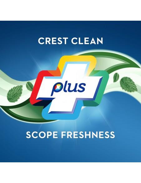 Отбеливающая зубная паста Crest Complete Multi-Benefit Whitening + Scope Outlast фото 6