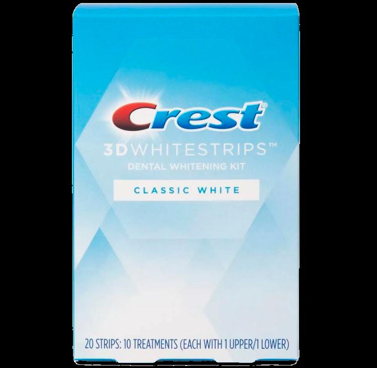Отбеливающие полоски Crest 3D Whitestrips Classic White