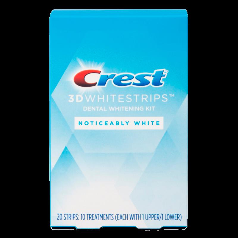 Отбеливающие полоски Crest 3D Whitestrips Noticeably White