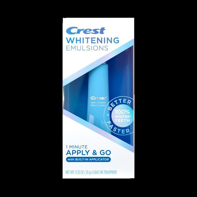 Отбеливающая эмульсия Crest Whitening Emulsions with Built-In Applicator